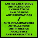 Anti-inflammatories - Antiallergics - Antipyretics - Analgesics - Anti-rrheumatics
